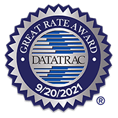 Datatrac Great Rate Award