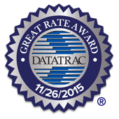 Datatrac Great Rate Award